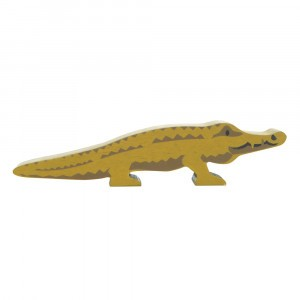 Tender Leaf Toys Houten Safaridier Krokodil