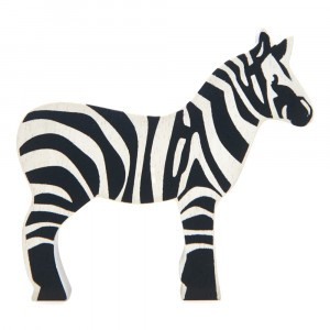 Tender Leaf Toys Houten Safaridier Zebra