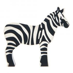 Tender Leaf Toys Houten Safaridier Zebra