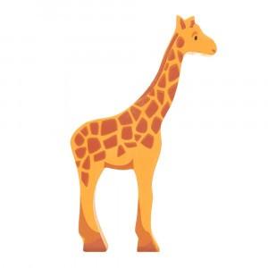 Tender Leaf Toys Houten Safaridier Giraf