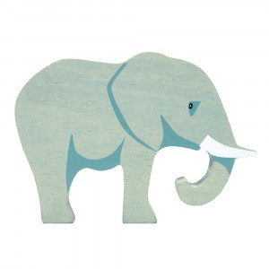 Tender Leaf Toys Houten Safaridier Olifant
