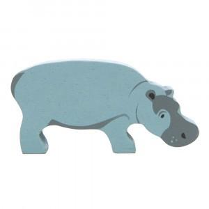 Tender Leaf Toys Houten Safaridier Nijlpaard