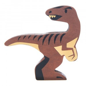 Tender Leaf Toys Houten Dino Velociraptor