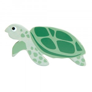 Tender Leaf Toys Houten Zeedier Zeeschildpad