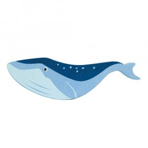 Tender Leaf Toys Houten Zeedier Walvis