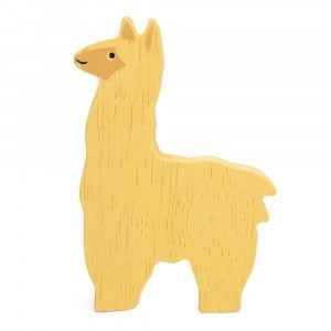 Tender Leaf Toys Houten Boerderijdier Alpaca