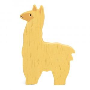 Tender Leaf Toys Houten Boerderijdier Alpaca
