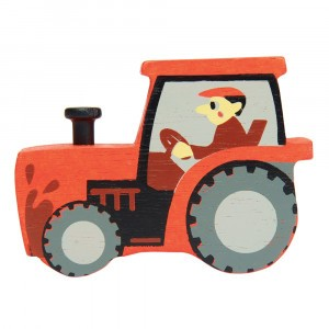 Tender Leaf Toys Houten Tractor