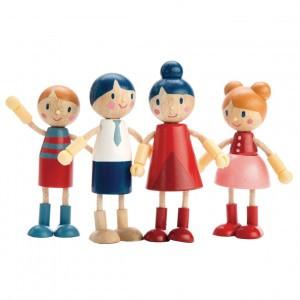 Tender Leaf Toys Poppenfamilie