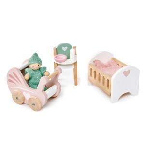 Tender Leaf Toys Poppenmeubels Babykamer