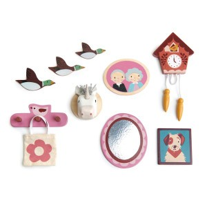 Tender Leaf Toys Poppenmeubels Muurdecoratie