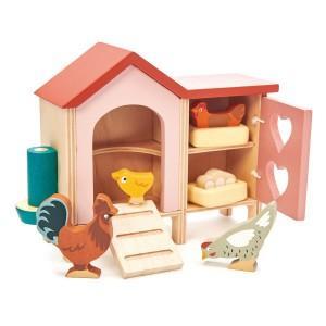 Tender Leaf Toys Huisdierenset Kippenren