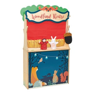 Tender Leaf Toys Winkeltje en Poppenkast 'Woodland'