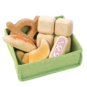 Tender Leaf Toys Mandje met Brood