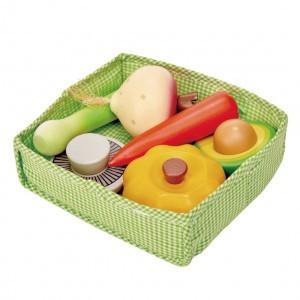 Tender Leaf Toys Mandje met Groenten