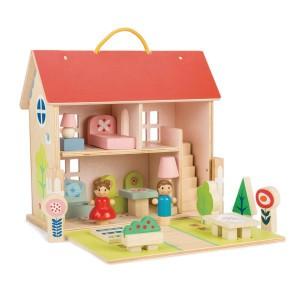 Tender Leaf Toys Meeneem Poppenhuis