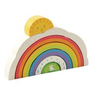 Tender Leaf Toys Puzzel Regenboogtunnel