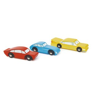 Tender Leaf Toys Retro Auto's