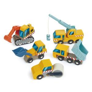 Tender Leaf Toys Bouwwagens