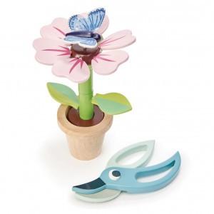 Tender Leaf Toys Tuinieren Bloempot Bloem en Vlinder
