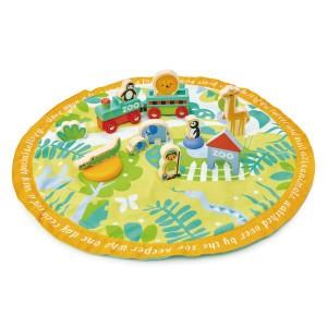 Tender Leaf Toys Speelset Safaripark in opbergzak
