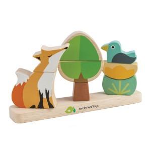 Tender Leaf Toys Magnetische Stapelaar Vos