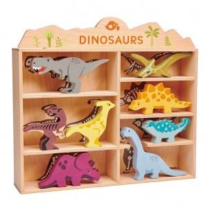 Tender Leaf Toys Set Houten Dino's (1 stuk per soort)