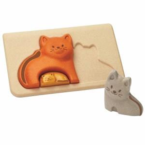 PlanToys Puzzel Kat