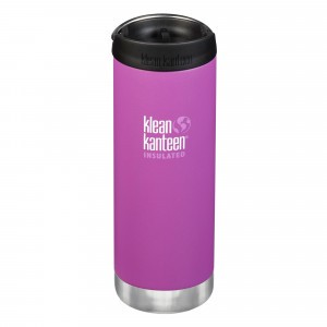 Klean Kanteen Thermosbeker TKWide met Café Cap (473 ml) Berry Bright