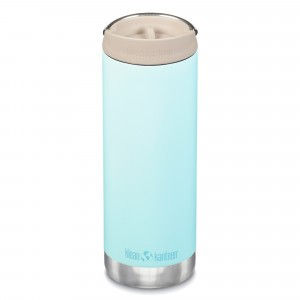 Klean Kanteen Thermosbeker TKWide met Café Cap (473 ml) Blue Tint