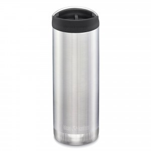 Klean Kanteen Thermosbeker TKWide met Café Cap (473 ml) Brushed Stainless
