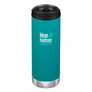 Klean Kanteen Thermosbeker TKWide met Café Cap (473 ml) Emerald Bay