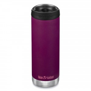 Klean Kanteen Thermosbeker TKWide met Café Cap (473 ml) Purple Potion