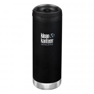 Klean Kanteen Thermosbeker TKWide met Café Cap (473 ml) Shale Black