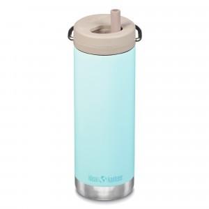 Klean Kanteen Thermosbeker TKWide met Twist Cap (473 ml) Blue Tint