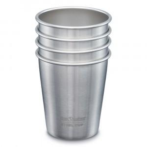 """Klean Kanteen Beker """"Cup"""" Staal (296 ml) 4-pack"""
