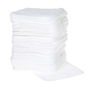 Cheeky Wipes Doekjes Premium Katoen Wit 50 stuks