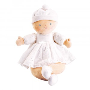Bonikka Pop Petit Baby Wit (32 cm)