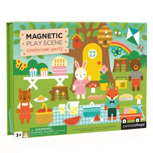 Petit Collage Magneetpuzzel Boomhut