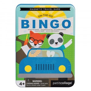 Petit Collage Magnetisch Spel On-the-Go Bingo