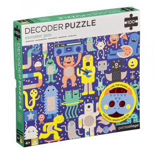 Petit Collage Decoder Puzzel Monster Jam