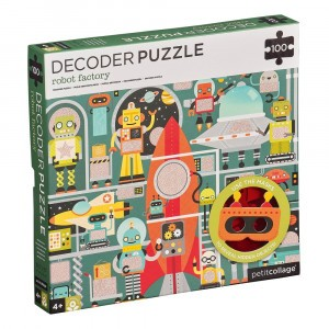Petit Collage Decoder Puzzel Robotfabriek