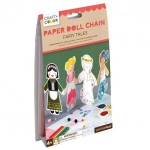 Petit Collage Craft & Color Slinger van Papieren Popjes Sprookjes