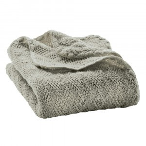 Disana Wollen Babydeken (100 x 80 cm) Grey