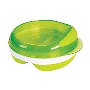 Oxo Tot Voedingsbord met 2 vakjes Groen