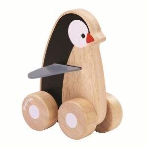 PlanToys Penguin wagentje