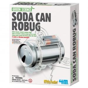 4M Kidzlabs Bouwpakket Robot Blik