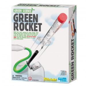 4M Kidzlabs Bouwpakket Groene Raket