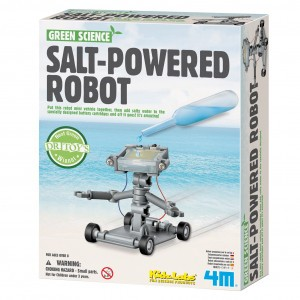 4M Kidzlabs Bouwpakket Zout Water Power Robot