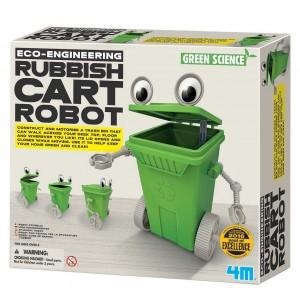 4M Kidzlabs Bouwpakket Afvalbak Robot